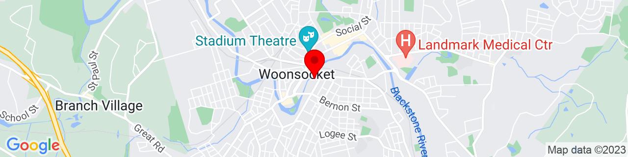 Google Map of 42.002057, -71.511477