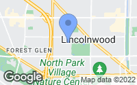 Map of Lincolnwood, IL