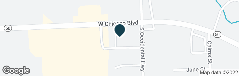 Google Map of1330 W CHICAGO BLVD