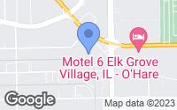 Map of Elk Grove Village, IL