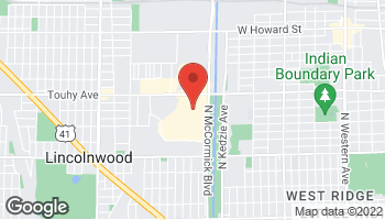 Map of 3333 West Touhy Ave in Lincolnwood