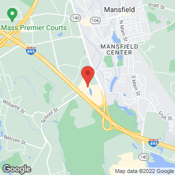 Map of Sprint at 280 School St, Mansfield, MA 02048