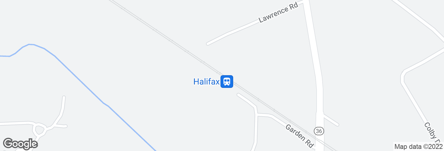Map of Halifax and surrounding area