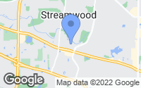 Map of Streamwood, IL