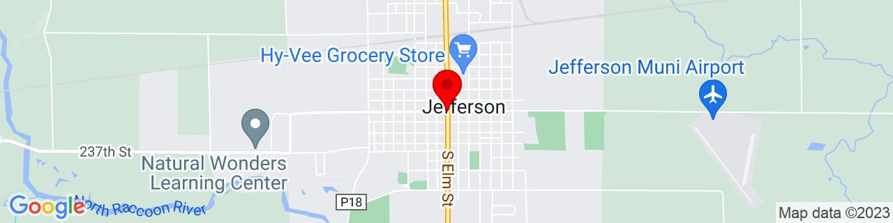 Google Map of 42.0152609, -94.3774684