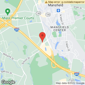 Map of Dr.Sabrina Gaan at 287 School St, Mansfield, MA 02048