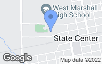 Map of State Center, IA