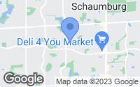 Map of Schaumburg, IL