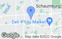 Map of Schaumburg, IL
