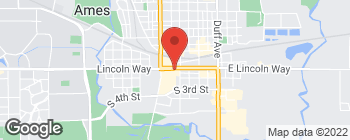 Map of 516 Lincoln Way in Ames