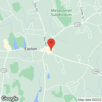 Map of Rite Aid at 690 Depot Street, North Easton, MA 02356