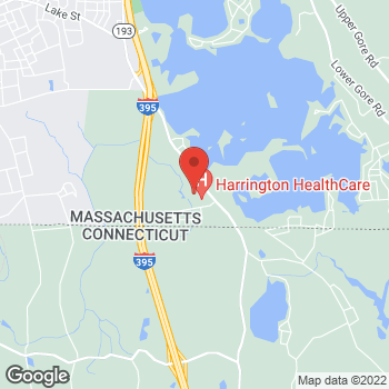 Map of Wayne Marchand, DPM at 336 Thompson Road, Webster, MA 01570