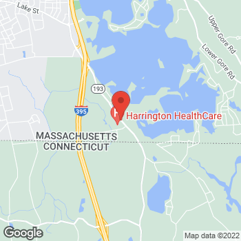 Map of Piotr Grabias, MD at 340 Thompson Road, Webster, MA 01570