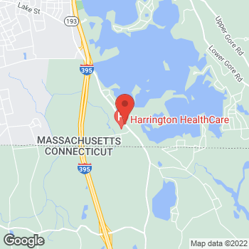 Map of Beata Stancel-Grabias, MD at 340 Thompson Road, Webster, MA 01570