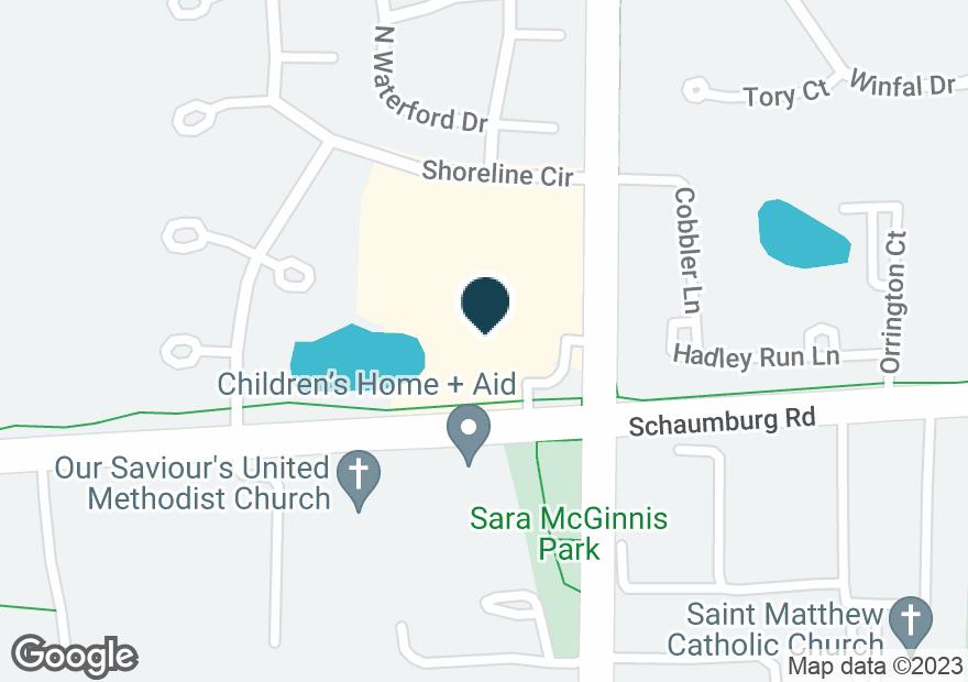 Google Map of770 E SCHAUMBURG RD