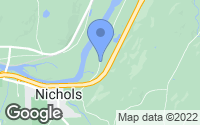 Map of Nichols, NY
