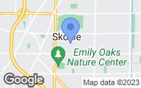Map of Skokie, IL