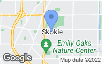Map of Skokie, IL