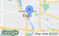 Map of Elgin, IL