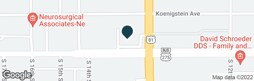 Google Map of1300 W NORFOLK AVE