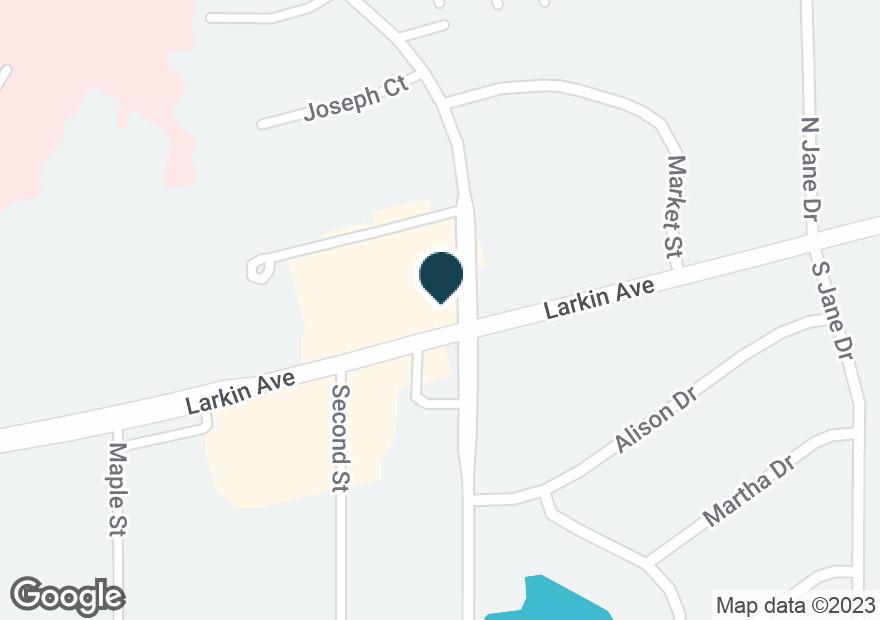 Google Map of1700 LARKIN AVE
