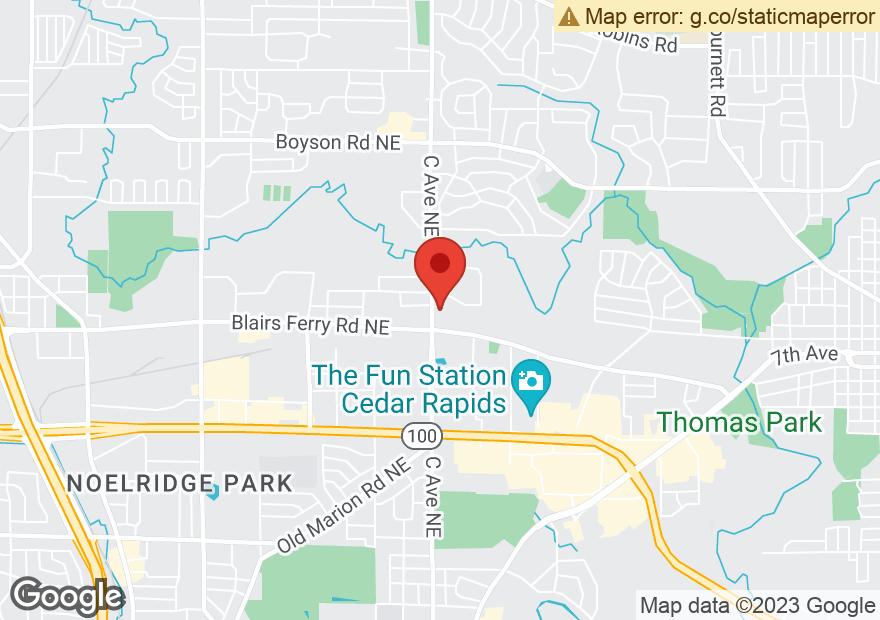 Google Map of 5750 C AVE NE