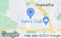 Map of Hiawatha, IA
