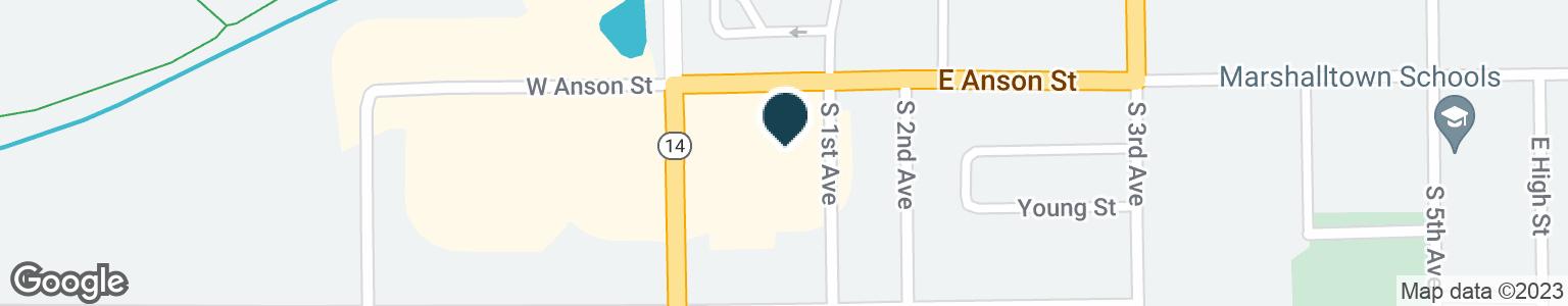 Google Map of5 E ANSON ST