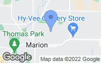 Map of Marion, IA