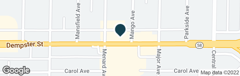 Google Map of5730 DEMPSTER ST