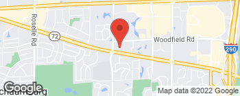 Map of 830 E Higgins Rd in Schaumburg