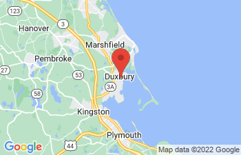 Map of Duxbury
