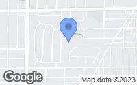 Map of Evanston, IL