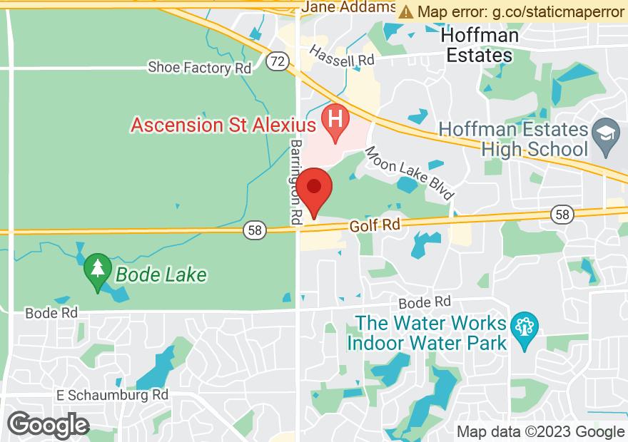 Google Map of 2560 W GOLF RD