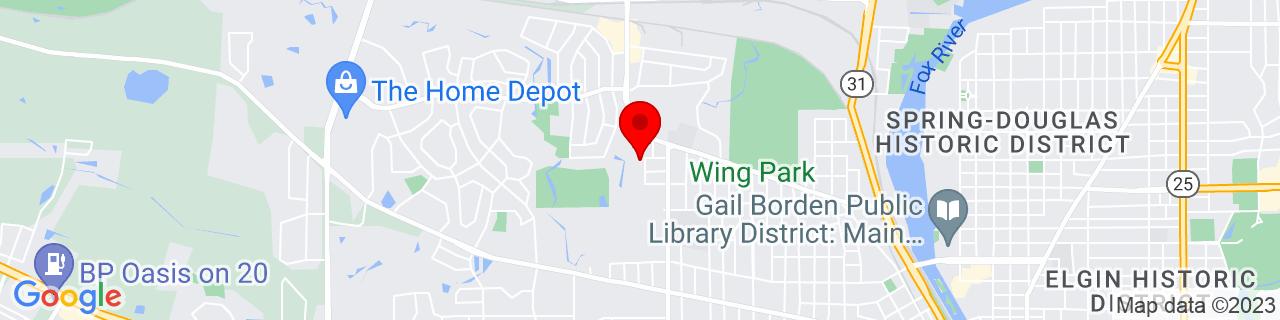Google Map of 42.0480818, -88.3142463