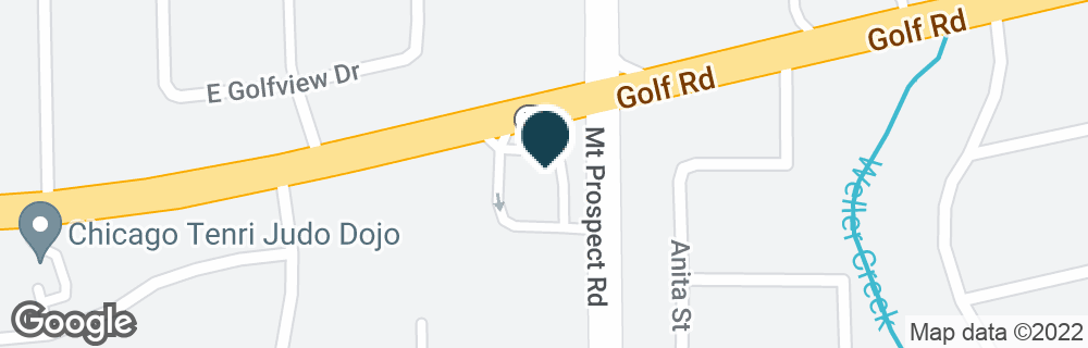 Google Map of17 W GOLF RD