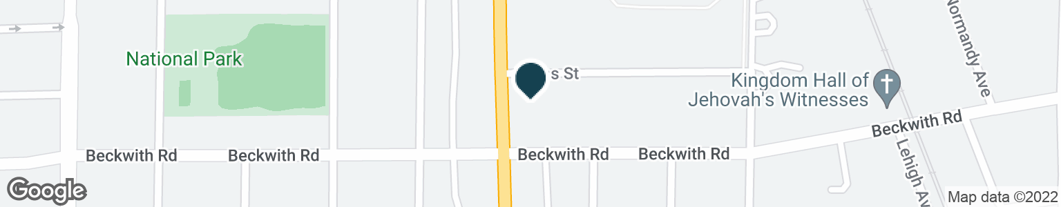 Google Map of9301 WAUKEGAN RD