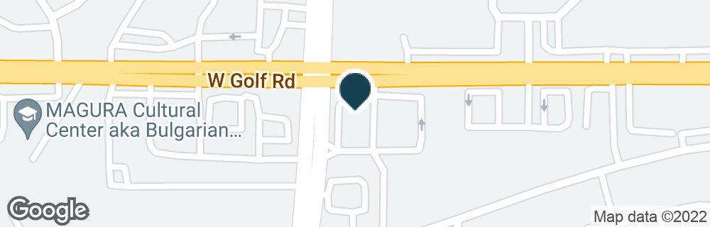Google Map of3 E GOLF RD