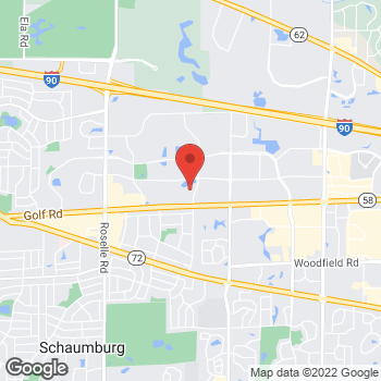 Map of buybuy BABY at 580 East Golf Road, Schaumburg, IL 60173