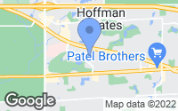 Map of Hoffman Estates, IL