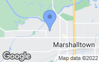 Map of Marshalltown, IA