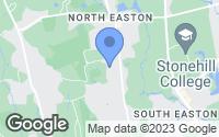 Map of Easton, MA
