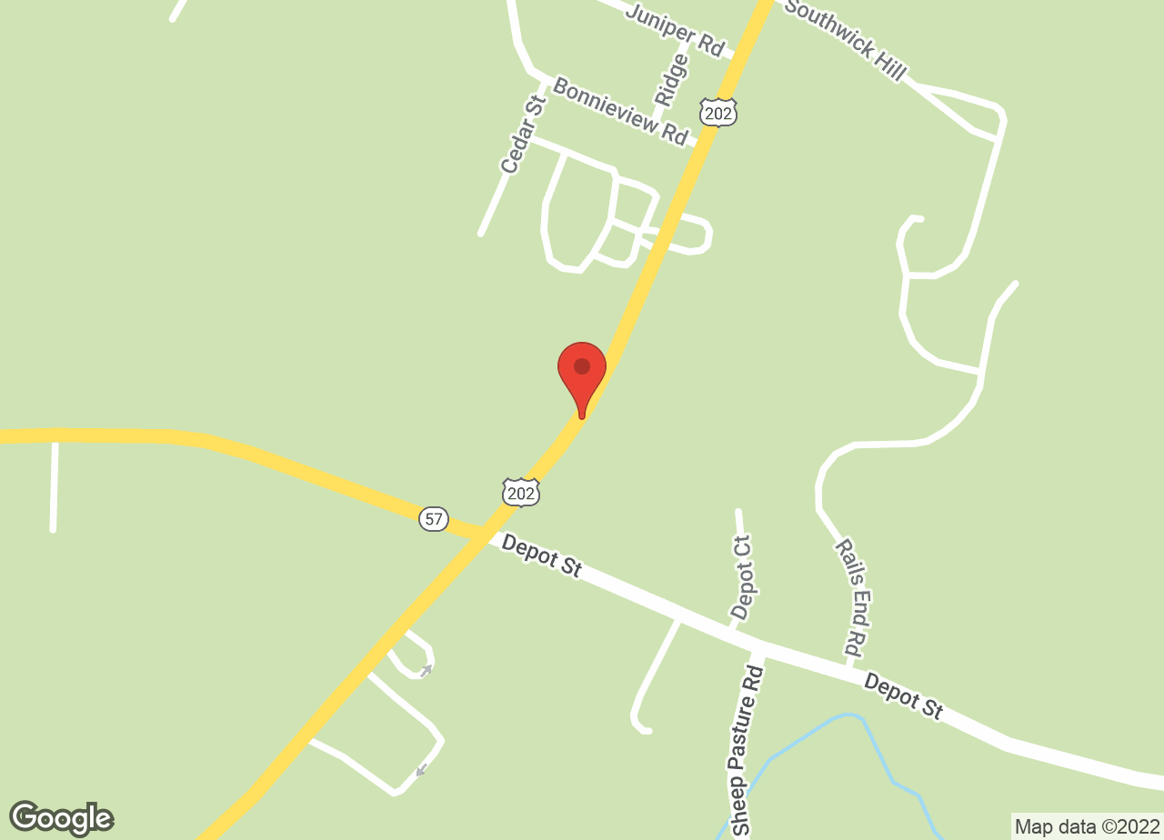 Google Map of VCA Southwick Animal Hospital