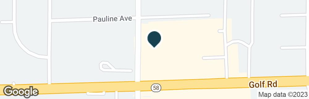 Google Map of2690 GOLF RD