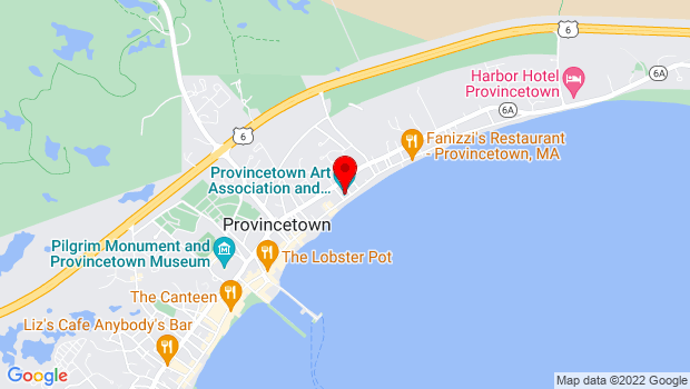 Google Map of 460 Commercial Street, Provincetown, MA 02657