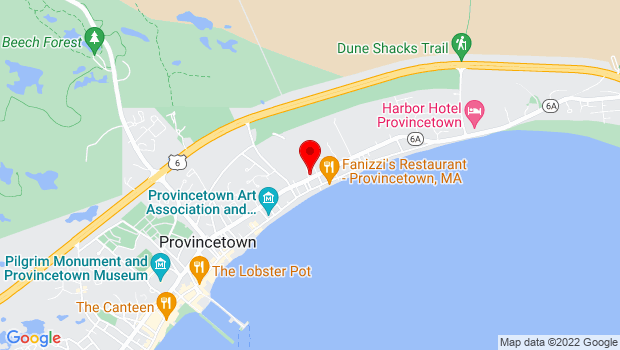 Google Map of 238 Bradford St, Provincetown, MA 02657