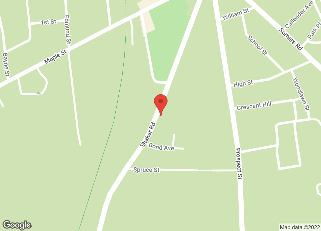 Google Map of VCA Shaker Road Animal Hospital