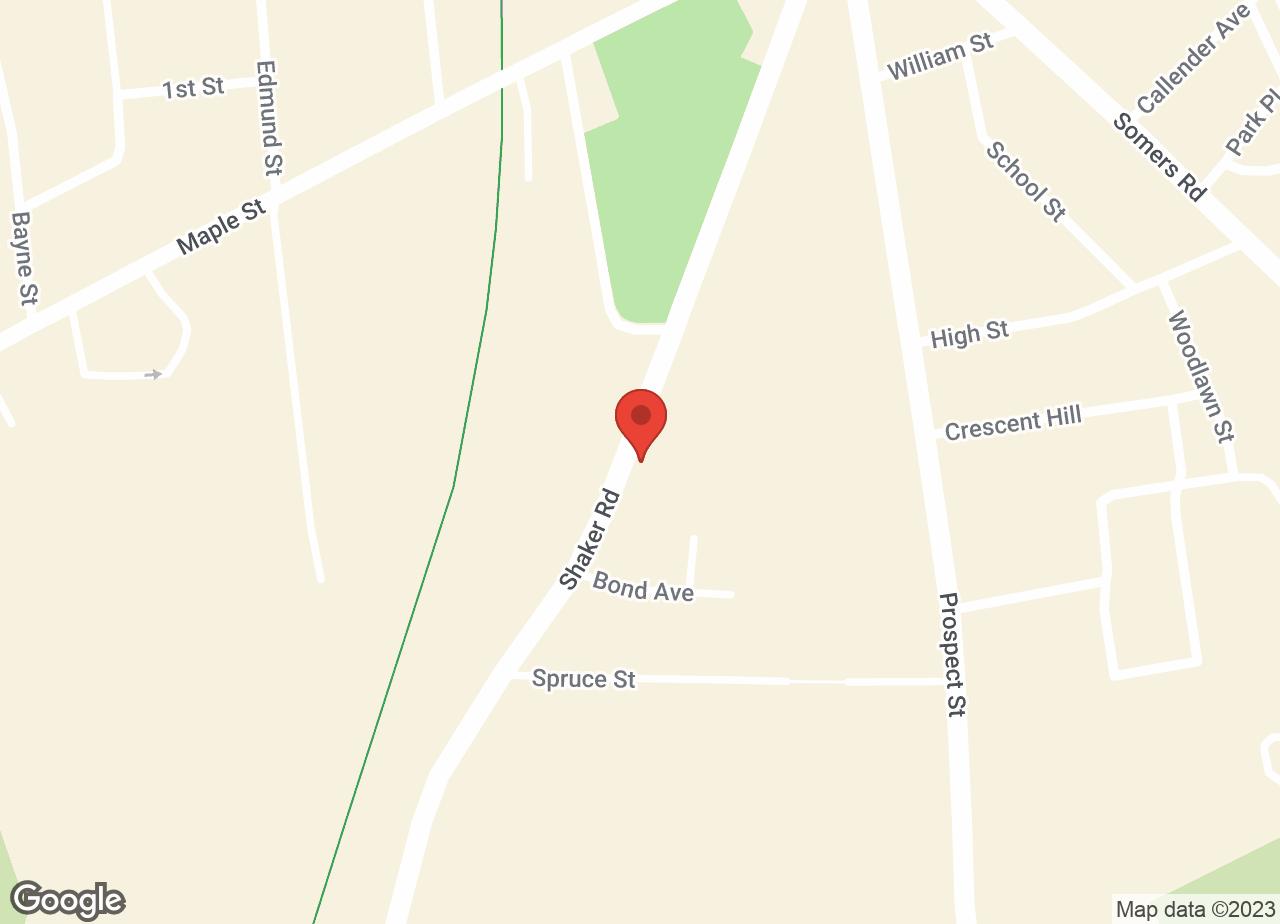 Google Map of VCA Shaker Road Animal Hospital