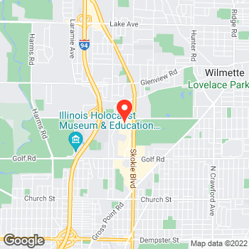 Map of LOFT at 4999 Old Orchard Center, Skokie, IL 60077