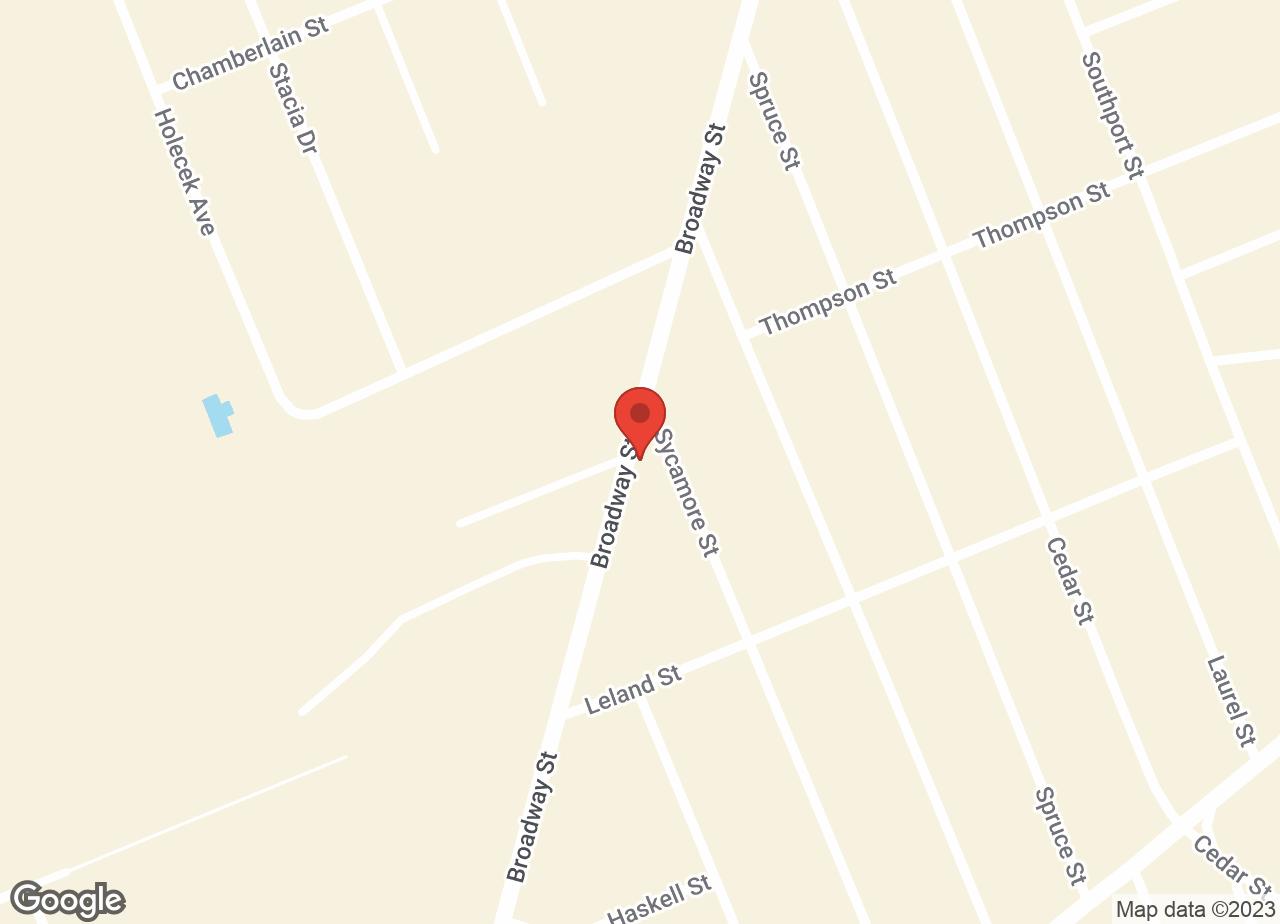 Google Map of VCA Broadway Animal Hospital